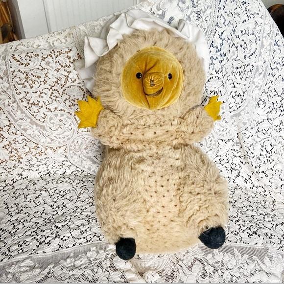 Vintage Mrs. Tiggy Winkle Stuffed Animal